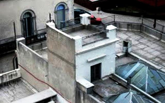 """El mirador del poeta Julio Herrera y Reissig, la """"Torre de los Panoramas"""". Desde ella se podía ver la costa Sur de la ciudad. Fotografía de Jorge Sierra."""