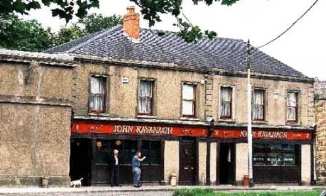 el Pub de los Enterradores, Dublin.